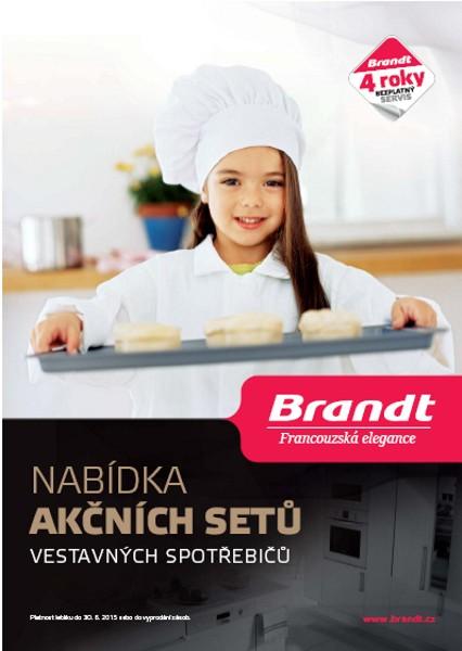 Akční sety vestavných spotřebičů Brandt 2015