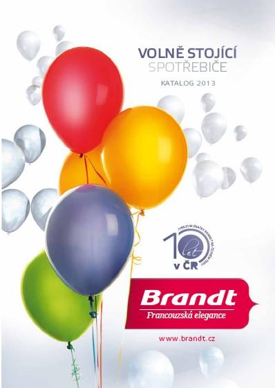 Volně stojící spotřebiče Brandt 2013